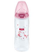 NUK FIRST CHOICE +butelka 360ml 6-18m-cy XL-kaszka